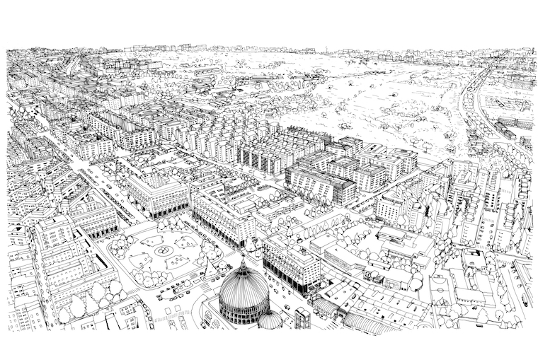 Tuscolano, an uncommon view of Rome <br srcset=
