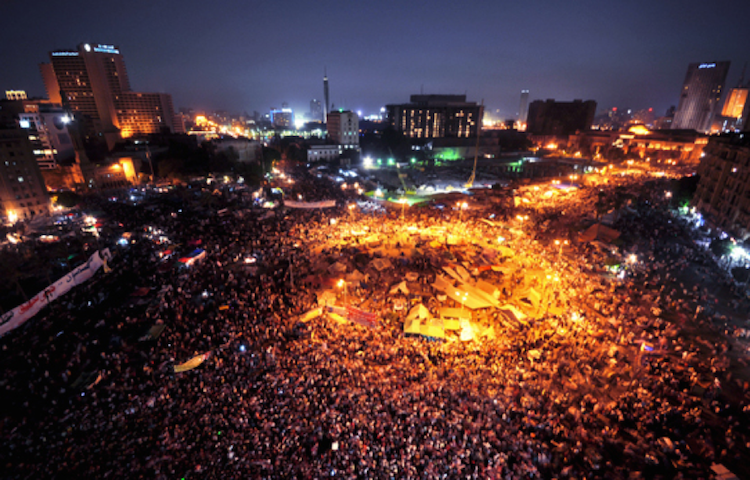 Conflict, speech, and truth within the urban space of Tahrir square <br srcset=