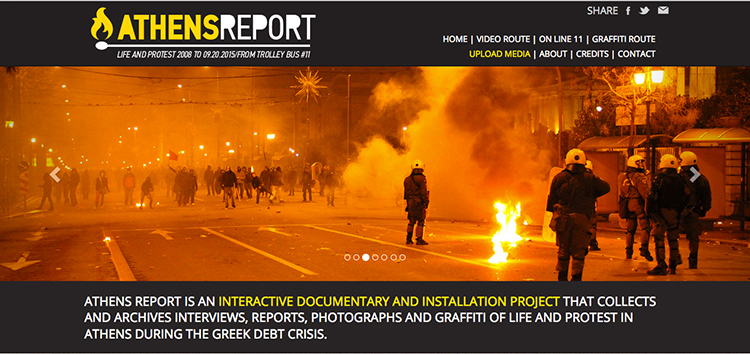 Athens Report: a collective archive of life and protest <br srcset=