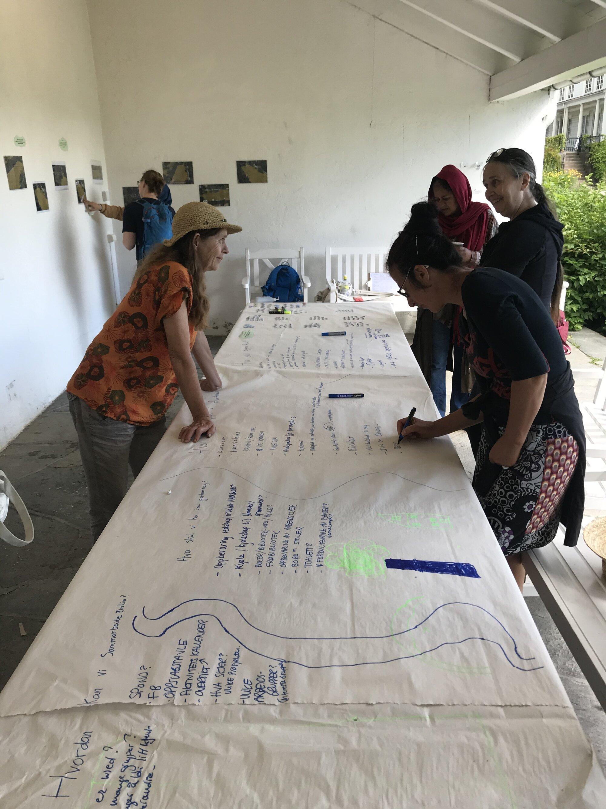 Image 3. Community engagement event at Linderud farm. Source: Kimberly Weger.