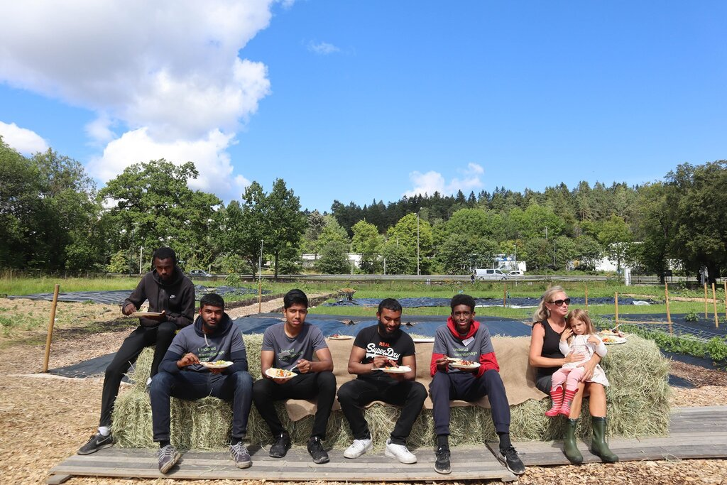 Understanding the past, reshaping the future: Creating a space in Oslo's Linderud Community Garden <br srcset=